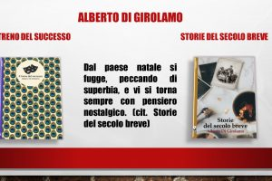 Oggi tocca a me – Alberto di Girolamo