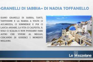 Oggi tocca a me – Nadia Toffanello
