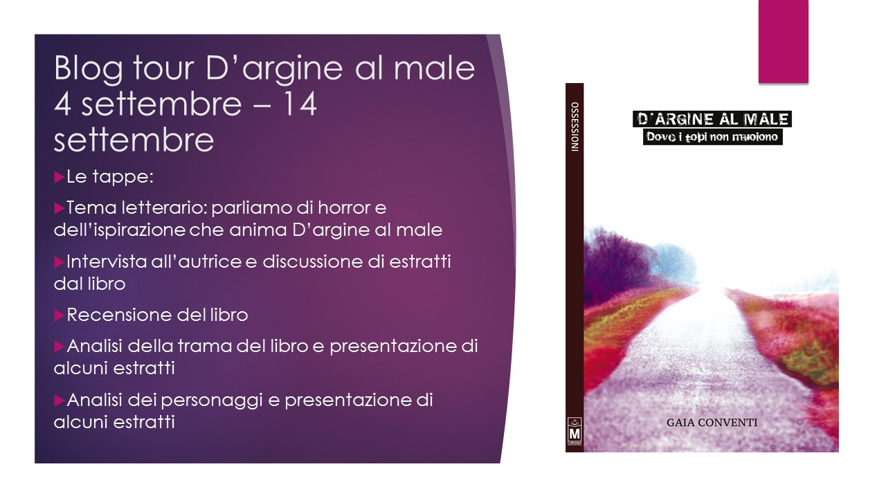 Blog tour D'argine al male