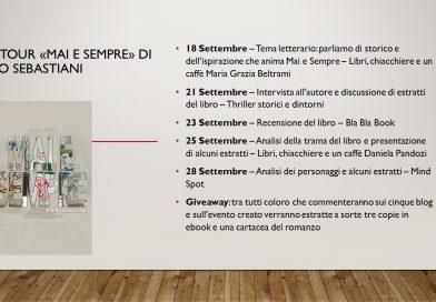 "Blog Tour ""Mai e Sempre"" di Bruno Sebastiani"