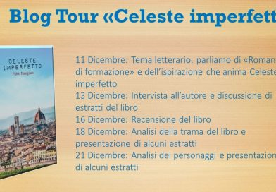 "Blog tour ""Celeste imperfetto"" – Seconda tappa, intervista all'autore"